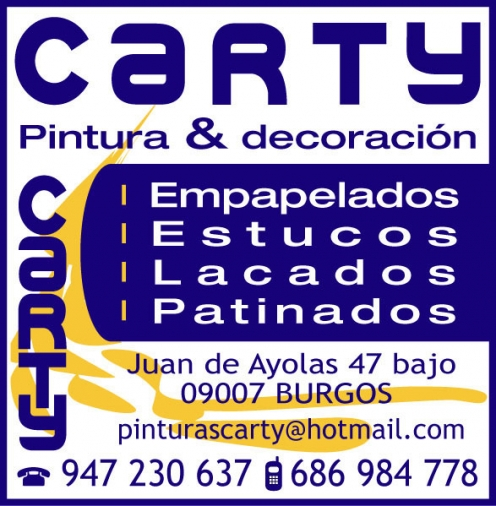 CARTY PINTURA Y DECORACIÓN